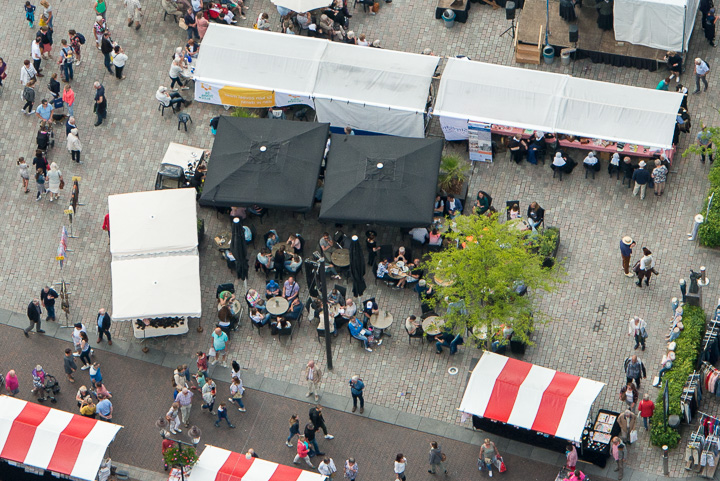 Nunspeet - Eibertjesdag vanuit de Lucht (fotoBramvandeBiezen)