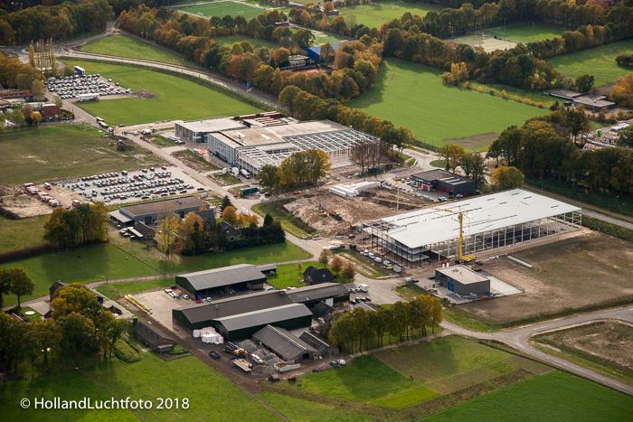 Het nieuwe bedrijventerrein De Kolk.