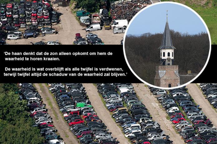 Het haantje kraait van de toren over Nunspeet