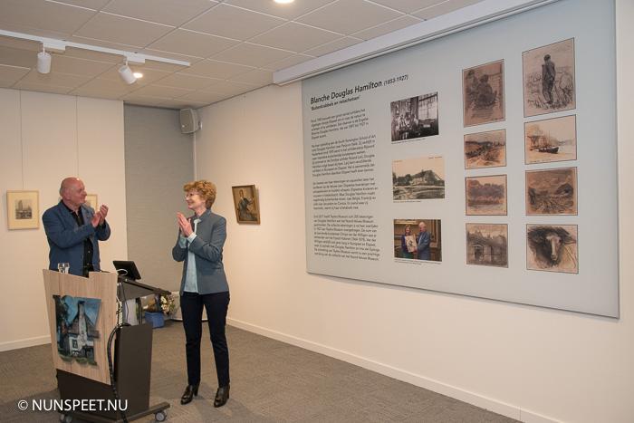 expositie 'buitenkrabbels en reisschetsen' in het noord-veluws